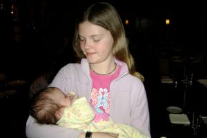 Sara and Baby Nell