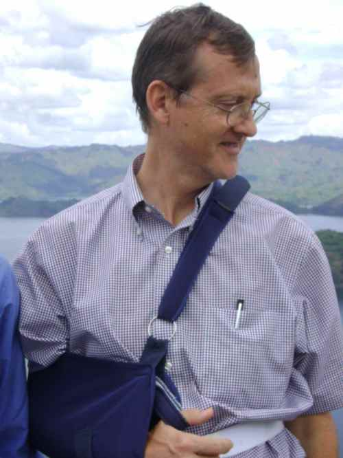 Caleb in sling