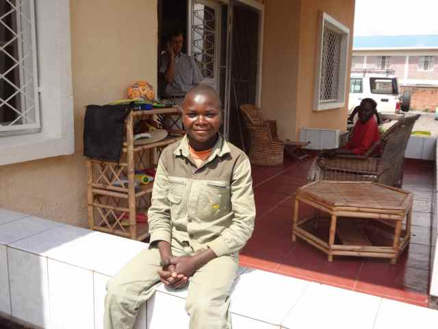 Faustin, a lymphoma survivor