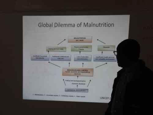 Dr. Bosco talks about malnutrition