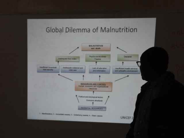 Dr. Bosco talks about malnutrition