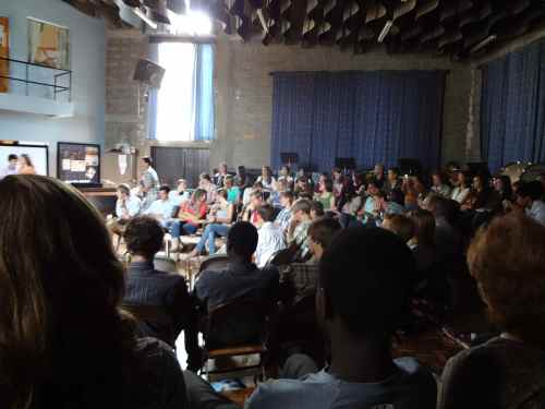 Senior Sunday-the Sr's lead worship and preach for the Sr class