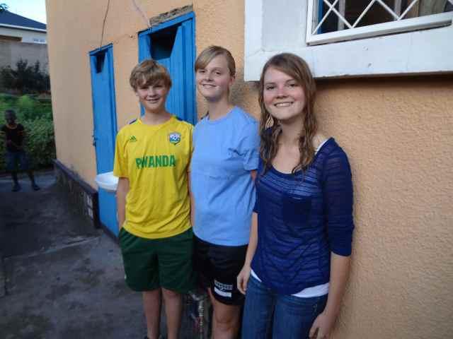 Thankful to have Caleb Jr, Hannah and Sara home!