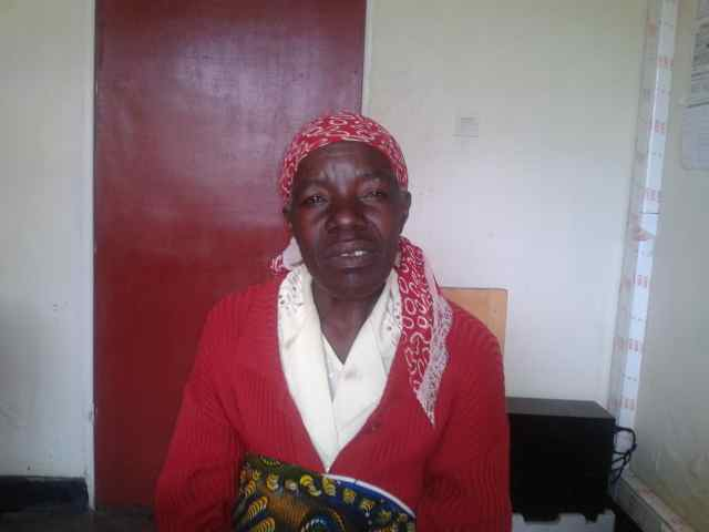 One of my patients at Kinigi Health Center